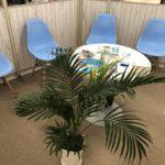 アルファロジックMEGAドンキホーテ店の待合室