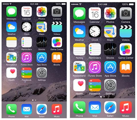 Zoom mode iPhone 6