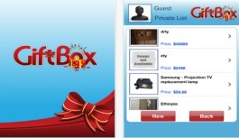 GiftBox iPhone App Review