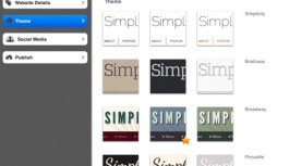 Build a Website From your iPad With Simpl App