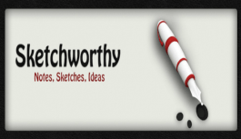 Draw pics, add images and text all at once with Sketchworthy for iOS