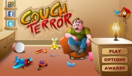 Annoy sleepy Uncle Mike in addictive arcade romp Couch Terror today!