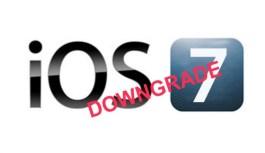How to downgrade iOS 7 to iOS 6