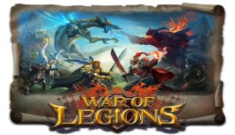 """International Guild Battles Arrive at Last! Real-Time Battle RPG """"War of Legions"""" Pre-Registration Campaign Begins!"""