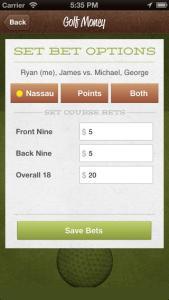 Golf Money Screenshot 2