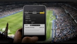 Sports betting in Canada using iPhone mobile device