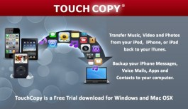 TouchCopy, Copy music, messages, photos and more to your computer from your iPhone