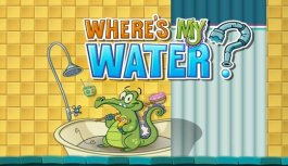 Get Down And Dirty To Make Swampy Squeaky Clean In Where's My Water App By Creature Feep