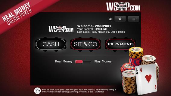Wsop Play Money