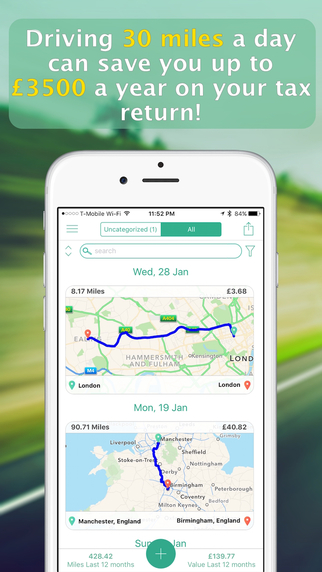 MileWiz - Automatic Mileage Tracker & Digital Driver Log: App Review