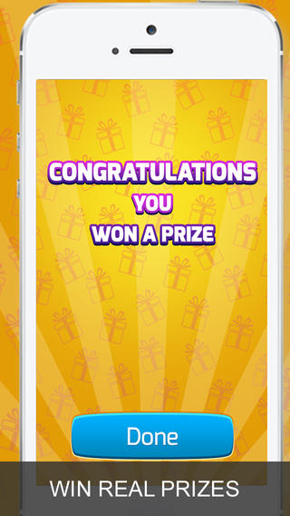 Scratch cards and win prizes with ScratchBack on iOS