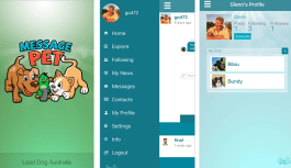 MessagePet app is an innovative way to socialize with your pets