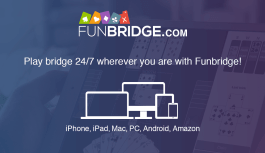 Compete with thousands of other players in Funbridge, out now for iOS and Android