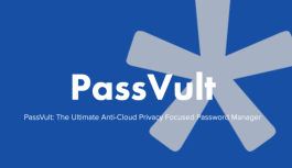 PassVult, The Easy Way To Manage your Password