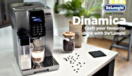 The De'Longhi Dinamica Coffee Machine, A Definite for Coffee Lovers – Review
