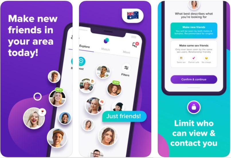 Meet people app