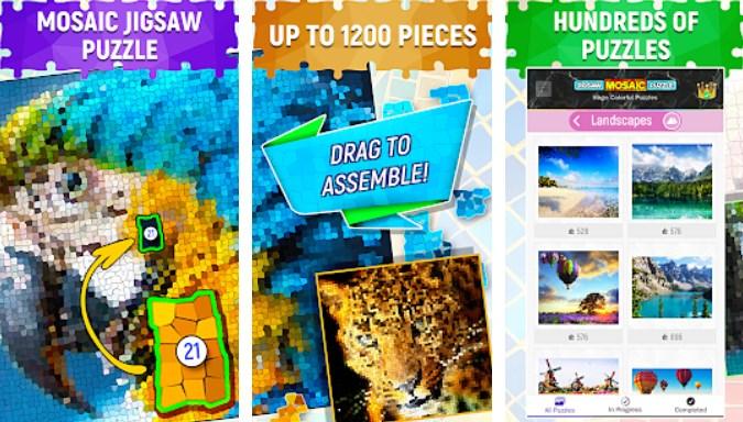 magic jigsaw puzzle game