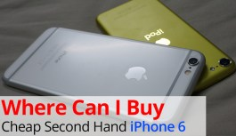 Where Can I Buy Cheap Second Hand iPhone 6?