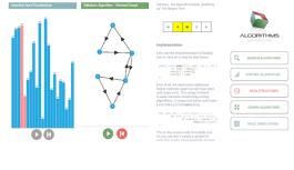 Algorhyme is an Educational Tool for Algorithms and Data Structures