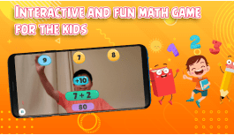 Hands Up Math – Interactive Math Practice Game