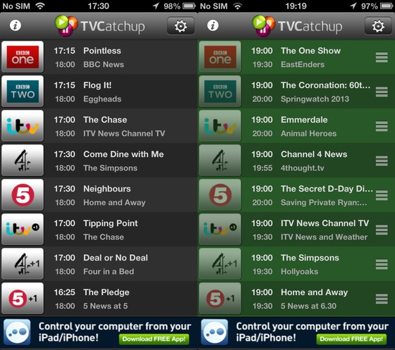 Watch live TV in the UK on your iPhone and iPad with ...