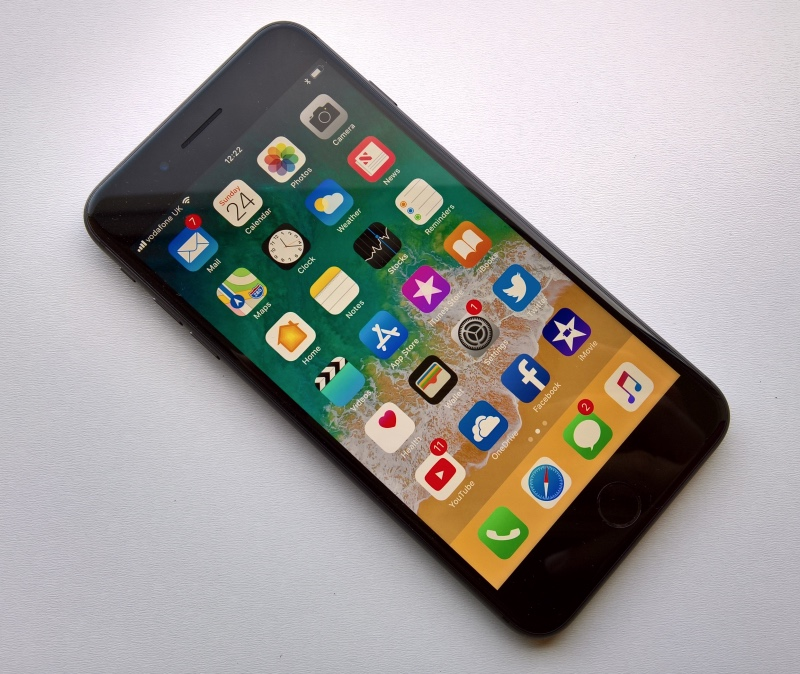 iPhone 8 Plus front view