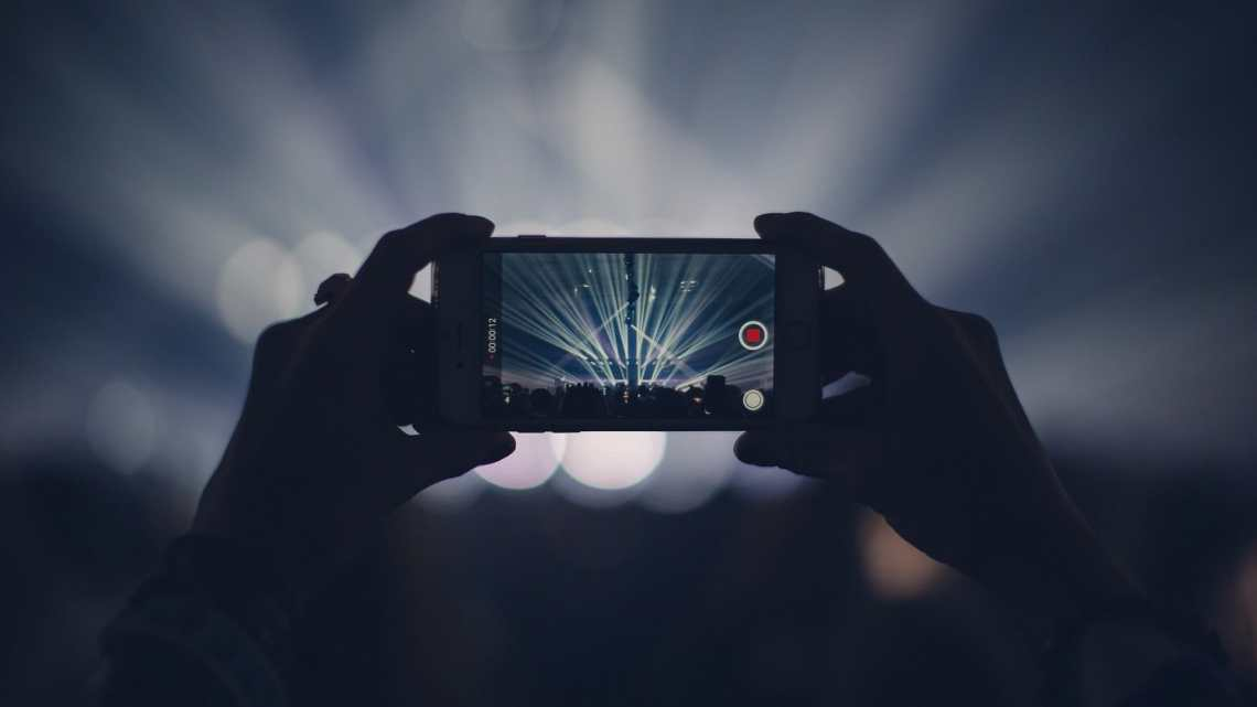 record videos with iphone