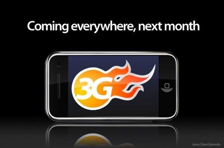 iphone 3g next month