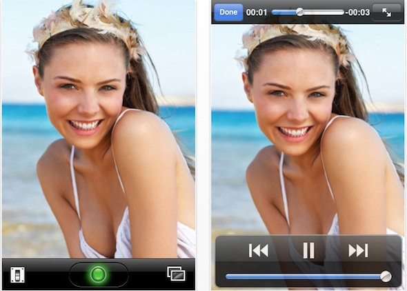 Video Genius Record video on your iPhone-iPhone3G