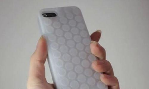 iPhone bubble case