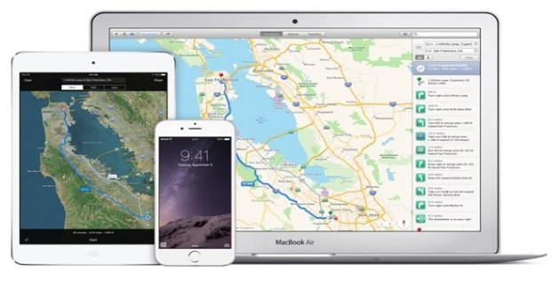 Apple Maps GasBuddy & GreatSchools 2
