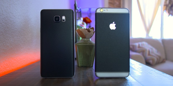 iPhone 6s vs galaxy note 5 2