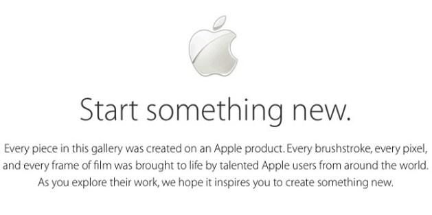 Start-Something-New-Apple 1