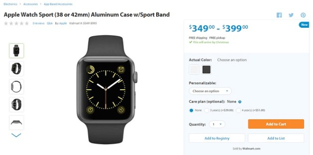 apple watch walmart