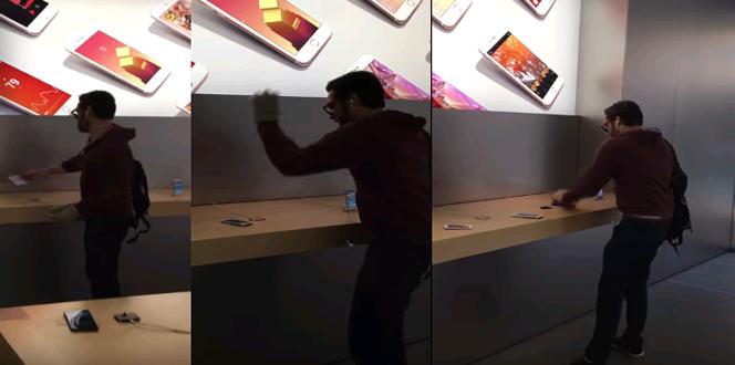 upset apple customer