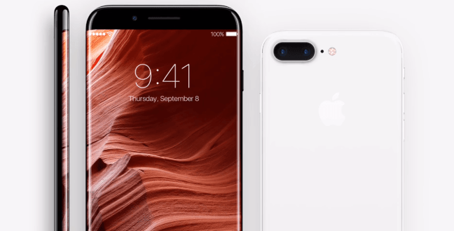 iPhone8-0 Apple Apple is testing a prototype OLED screen bend to the iPhone 8 Technology