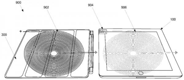 Apple solicita patente sobre carregamento Wireless através de uma Smart Cover