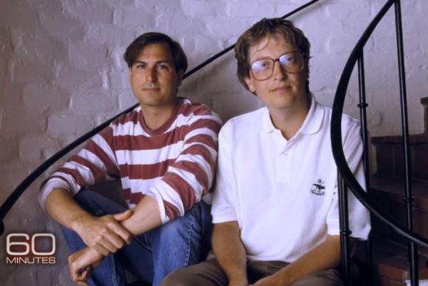 """Bill Gates emociona-se ao falar de Steve Jobs em entrevista no programa """"60 Minutes"""""""