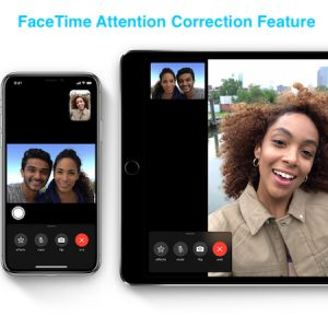 FaceTime Attention Correction Feature on iPhone and iPad