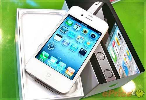 Iphone 4 bianco hong kong foto 2