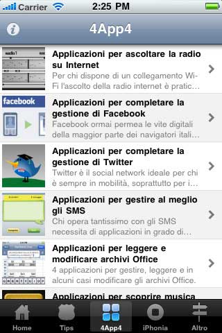 Trucchi e segreti iphone 4