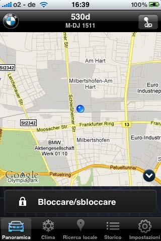 My BMW Remote iphone 2