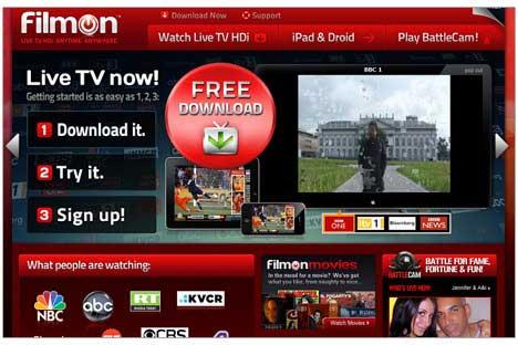 FilmO nstreaming tv su iphone