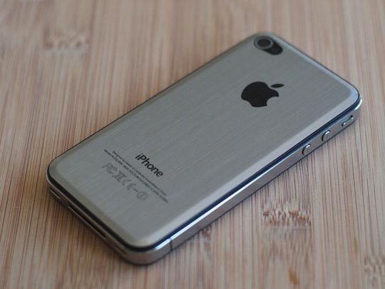 iphone 5 metallo liquido