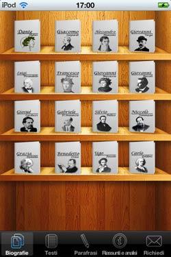 I libri classici su iPhone con iLetteratura