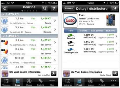 Prezzi Benzina: aggiornamento per il software
