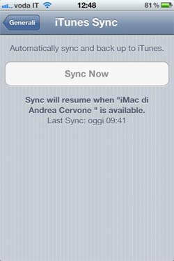 Bug IOS 5 beta