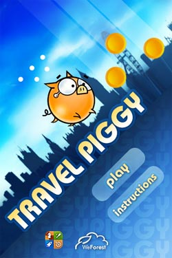 Salva il maiale in Travel Piggy