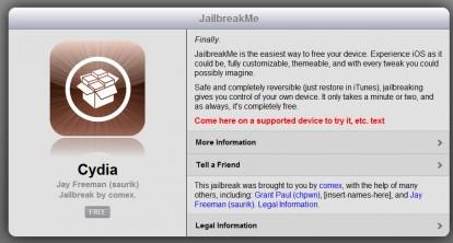 E' arrivato il JailbreakMe 3.0 per iPhone