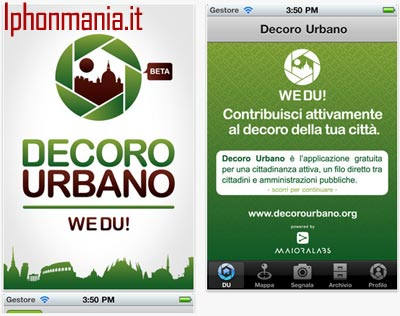 Decoro Urbano iPhone